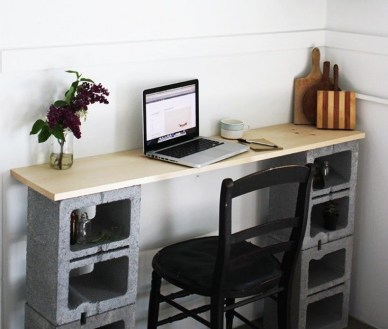 Astonishing Diy Cinder Block Furniture Decor Ideas 26