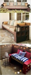 Astonishing Diy Cinder Block Furniture Decor Ideas 33