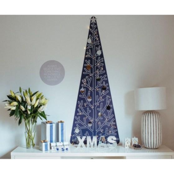 Easy Christmas Tree Decor With Lighting Ideas 13