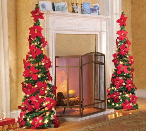 Easy Christmas Tree Decor With Lighting Ideas 38