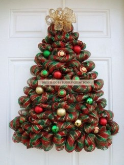 Easy Christmas Tree Decor With Lighting Ideas 45