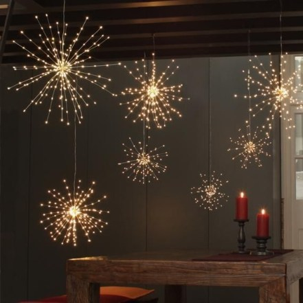 Elegant Christmas Lights Decor For Backyard Ideas 06
