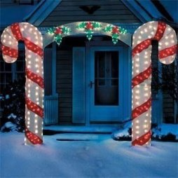 Extraordinary Outdoor Light Christmas Ideas 30