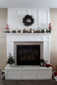 Fabulous Rock Stone Fireplaces Ideas For Christmas Décor 07