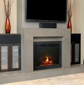 Fabulous Rock Stone Fireplaces Ideas For Christmas Décor 12