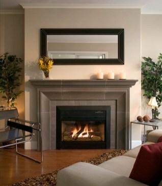 Fabulous Rock Stone Fireplaces Ideas For Christmas Décor 17