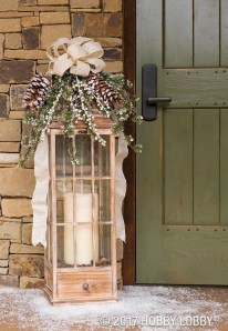 Lovely Farmhouse Christmas Porch Decor And Design Ideas 19