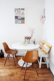 Luxurious Small Dining Room Decorating Ideas 29