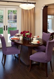 Luxurious Small Dining Room Decorating Ideas 32
