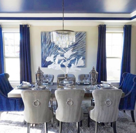 Luxurious Small Dining Room Decorating Ideas 46