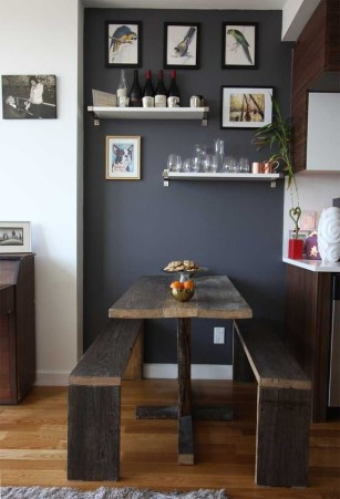 Luxurious Small Dining Room Decorating Ideas 48