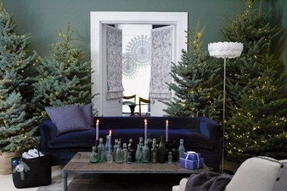Minimalist Christmas Tree Ideas For Living Room Décor 01