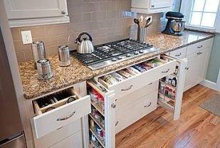 Minimalist Kitchen Area Firm And Diy Storage Ideas 13