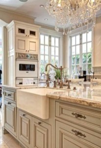 Newest French Country Kitchen Decoration Ideas 03