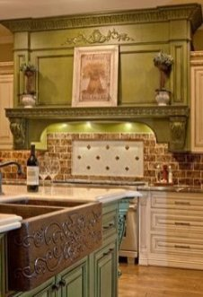 Newest French Country Kitchen Decoration Ideas 32