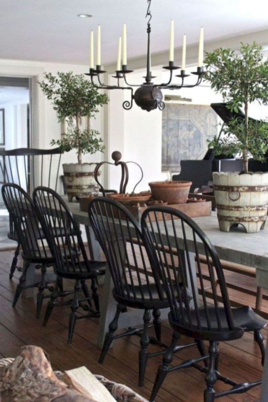 Newest French Country Kitchen Decoration Ideas 37