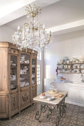 Newest French Country Kitchen Decoration Ideas 40
