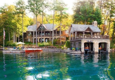 Outstanding Lake House Exterior Designs Ideas Will Totally Love 03