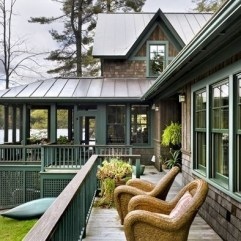 Outstanding Lake House Exterior Designs Ideas Will Totally Love 04