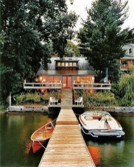 Outstanding Lake House Exterior Designs Ideas Will Totally Love 07