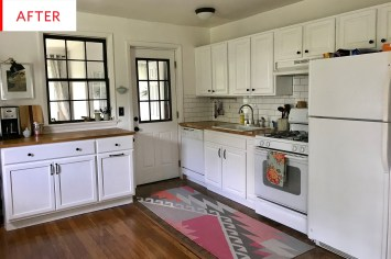Pretty Farmhouse Kitchen Makeover Ideas On A Budget 03