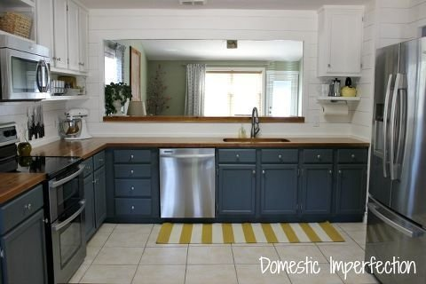 Pretty Farmhouse Kitchen Makeover Ideas On A Budget 12