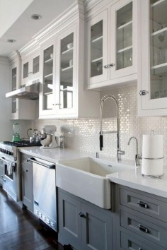 Pretty Farmhouse Kitchen Makeover Ideas On A Budget 13
