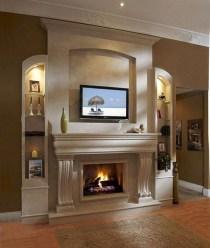 Stunning Fireplace Mantel Decor For Christmas Ideas 09