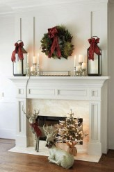 Stunning Fireplace Mantel Decor For Christmas Ideas 10