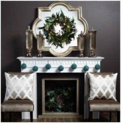 Stunning Fireplace Mantel Decor For Christmas Ideas 20