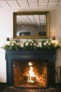 Stunning Fireplace Mantel Decor For Christmas Ideas 39