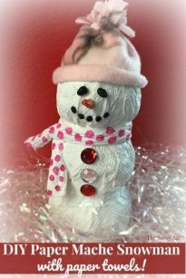 Stunning Paper Mache Ideas For Christmas 40