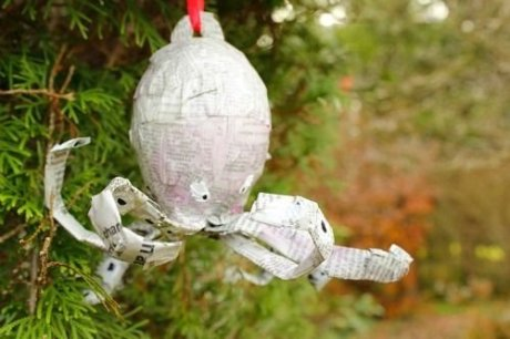 Stunning Paper Mache Ideas For Christmas 42