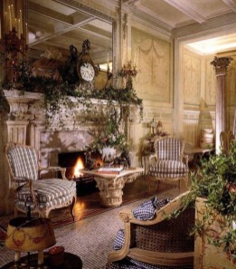 Stylish French Country Living Room Design Ideas 21
