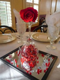 Cheap Valentine Table Decoration Ideas36