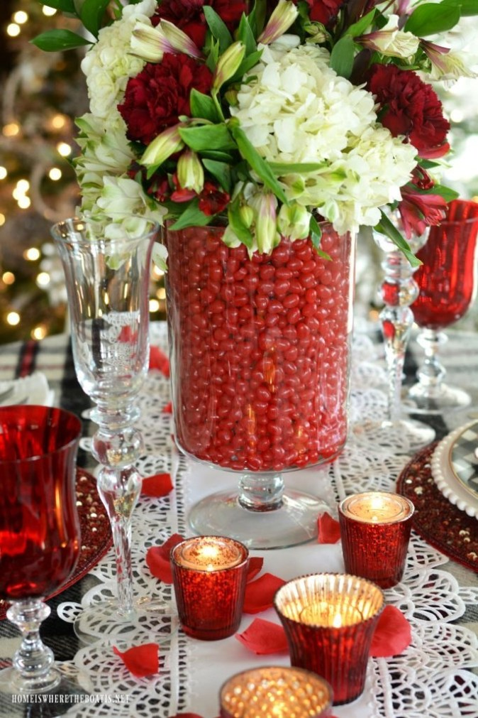 Cheap Valentine Table Decoration Ideas41