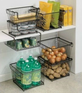 Elegant Kitchen Organization Ideas For Your Kitchen06