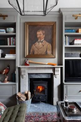 Fabulous Vintage Fireplace Design Ideas09