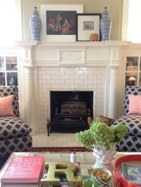 Fabulous Vintage Fireplace Design Ideas16