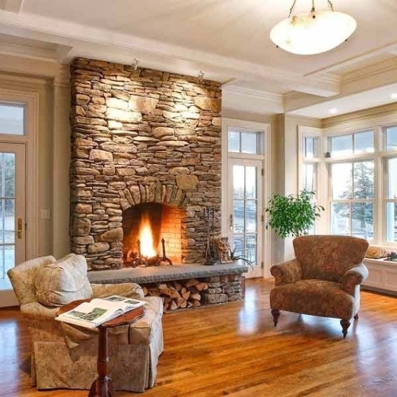 Fabulous Vintage Fireplace Design Ideas41