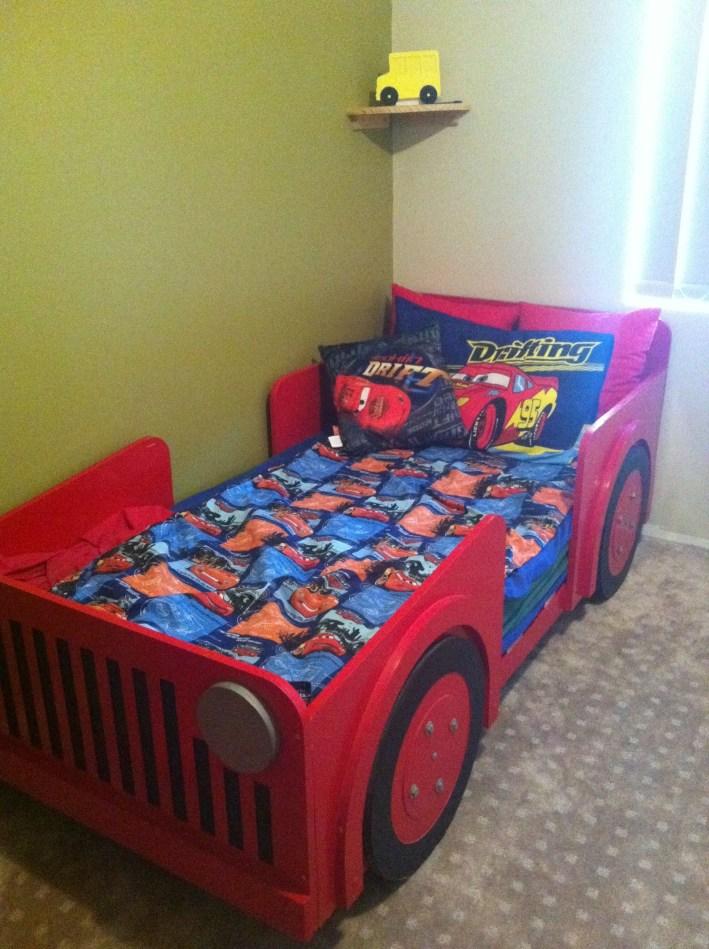 Gorgeous Diy Kids Car Bed Ideas14