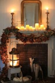 Incredible Halloween Fireplace Mantel Design Ideas12