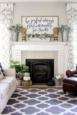 Incredible Halloween Fireplace Mantel Design Ideas29