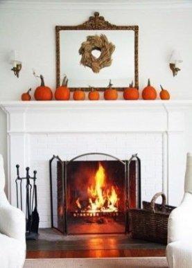 Incredible Halloween Fireplace Mantel Design Ideas31