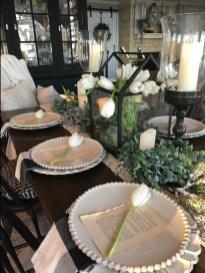 Adorable Farmhouse Dining Room Design Ideas15