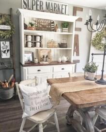 Adorable Farmhouse Dining Room Design Ideas18