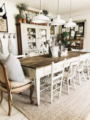 Adorable Farmhouse Dining Room Design Ideas27