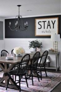 Adorable Farmhouse Dining Room Design Ideas44