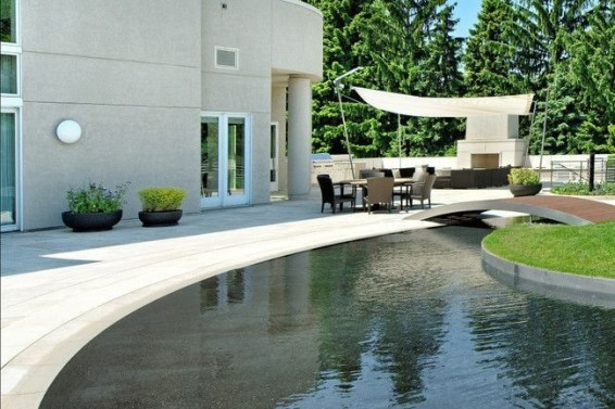 Amazing Glass Pool Design Ideas For Home11