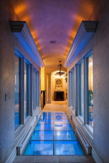 Amazing Glass Pool Design Ideas For Home40